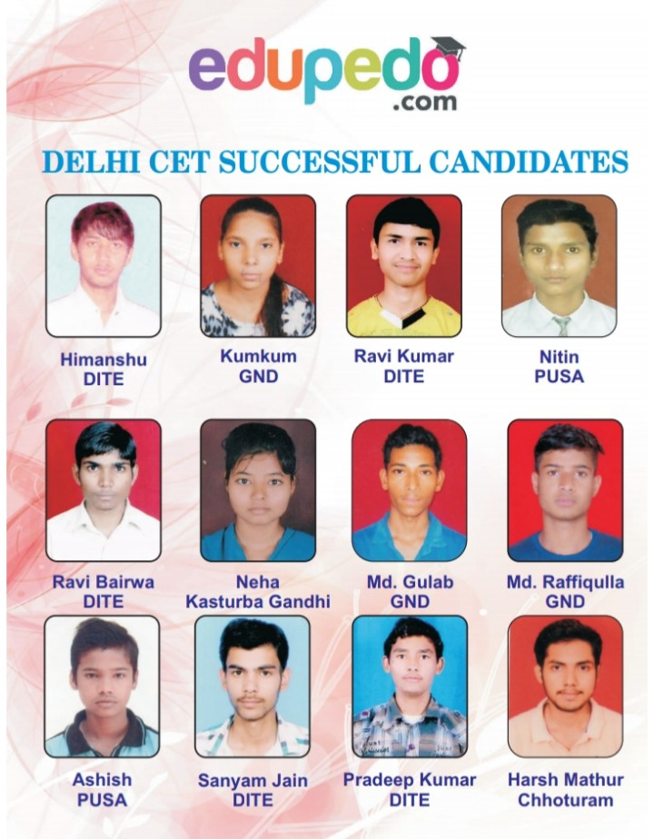 DLEHI POLYTECHNIC SUCCESSFUL CANDIDATES